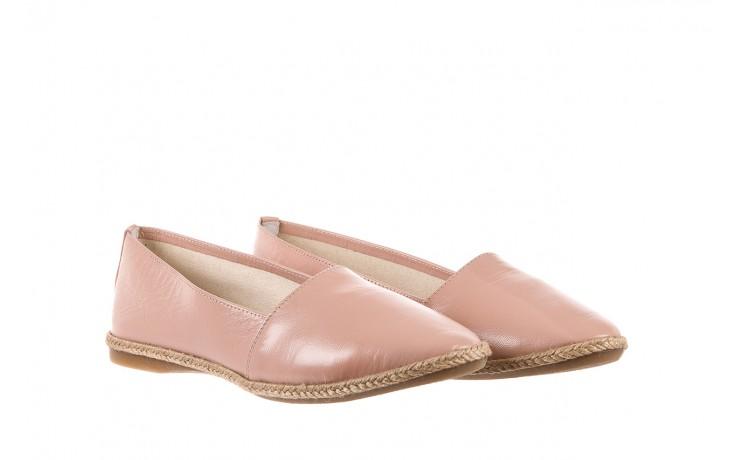 Mokasyny bayla-076 1566 różowy 18, skóra naturalna  - mokasyny i lordsy - półbuty - buty damskie - kobieta 1