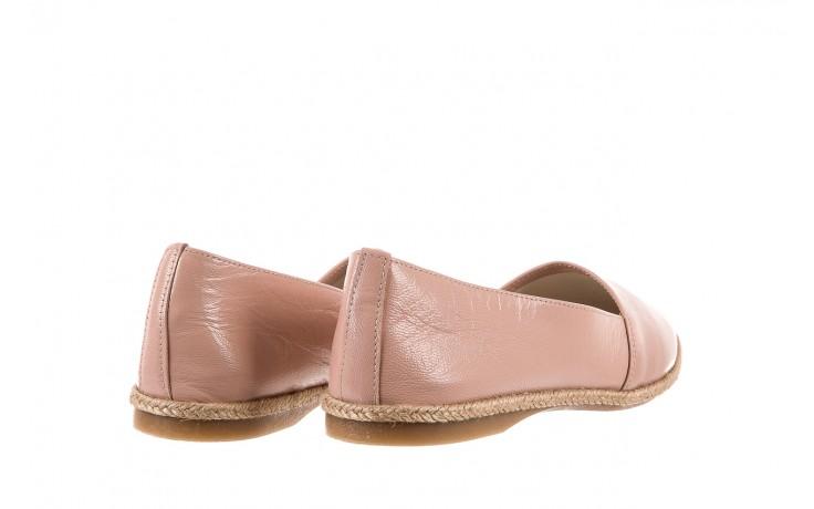 Mokasyny bayla-076 1566 różowy 18, skóra naturalna  - mokasyny i lordsy - półbuty - buty damskie - kobieta 3