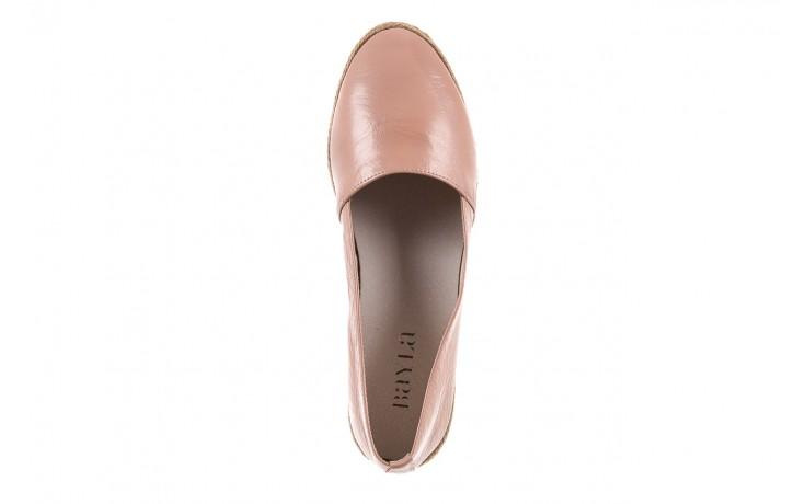 Mokasyny bayla-076 1566 różowy 18, skóra naturalna  - mokasyny i lordsy - półbuty - buty damskie - kobieta 4