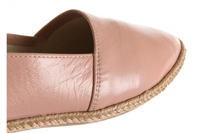 Mokasyny bayla-076 1566 różowy 18, skóra naturalna  - mokasyny i lordsy - półbuty - buty damskie - kobieta 5
