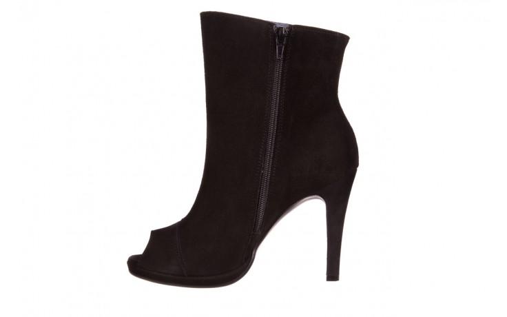 Botki bayla-076 1579z czarny, skóra naturalna  - zamszowe - szpilki - buty damskie - kobieta 2