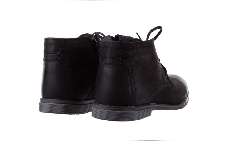 Trzewiki bayla-081 817 czarny, skóra naturalna  - trzewiki - buty męskie - mężczyzna 3