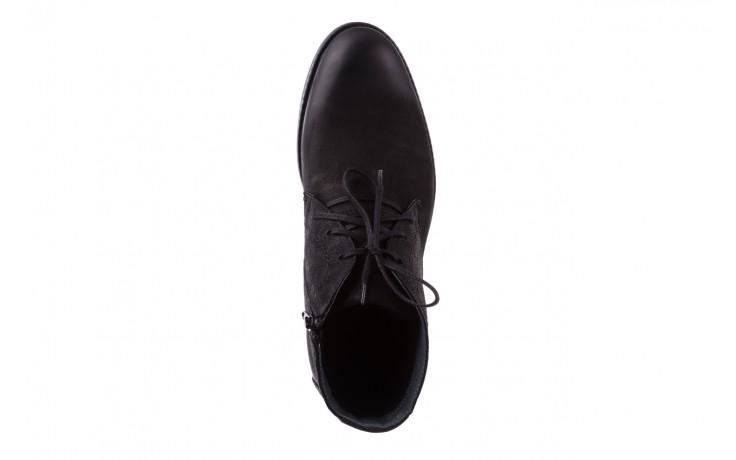Trzewiki bayla-081 817 czarny, skóra naturalna  - trzewiki - buty męskie - mężczyzna 4