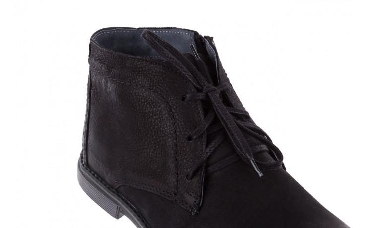 Trzewiki bayla-081 817 czarny, skóra naturalna  - trzewiki - buty męskie - mężczyzna 6