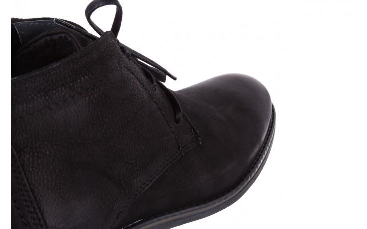 Trzewiki bayla-081 817 czarny, skóra naturalna  - trzewiki - buty męskie - mężczyzna 5