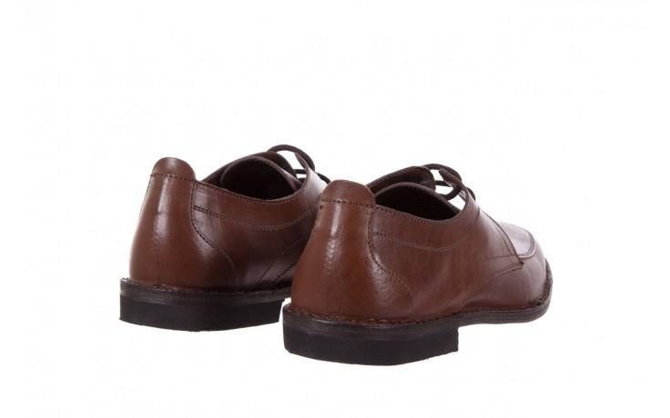 Półbuty bayla-088 08471 vacchetta marrone, brąz, skóra naturalna 3
