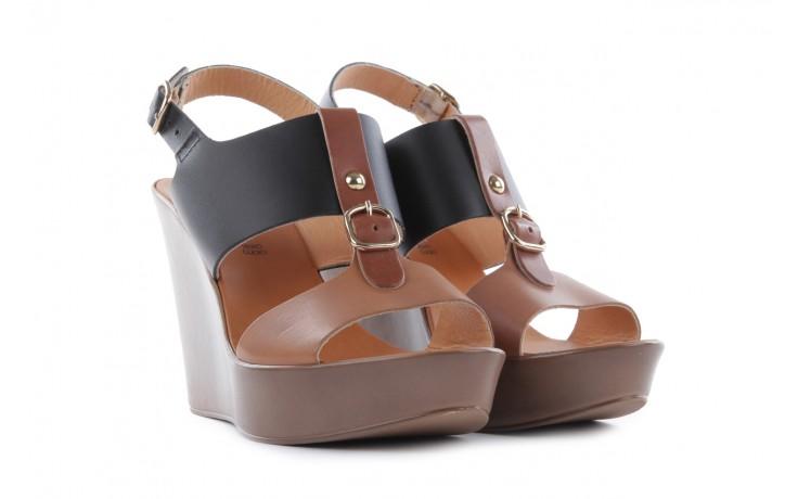 Sandały bayla-093 7202 black natural, czarny/brąz, skóra naturalna - bayla - nasze marki 1