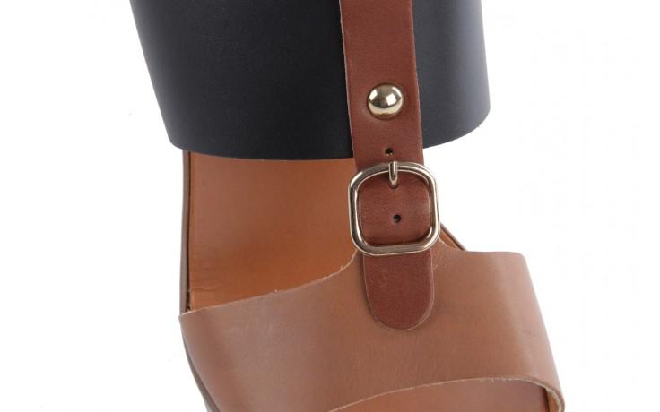 Sandały bayla-093 7202 black natural, czarny/brąz, skóra naturalna - bayla - nasze marki 5