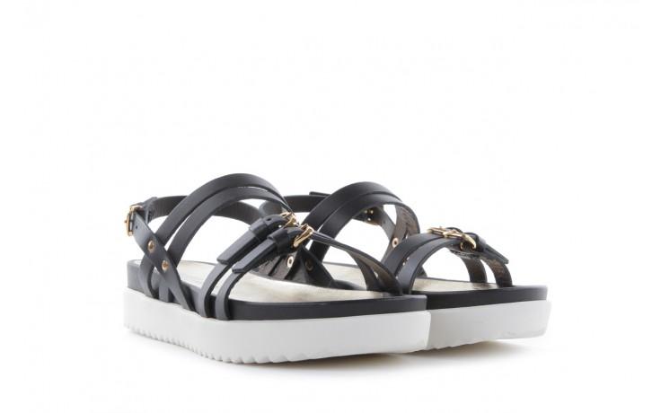 Sandały bayla-093 7554 black, czarny, skóra naturalna - bayla - nasze marki 1