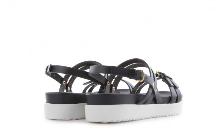 Sandały bayla-093 7554 black, czarny, skóra naturalna - bayla - nasze marki 3