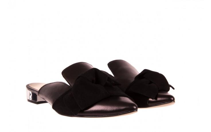 Klapki bayla-097 01 czarne klapki, skóra naturalna  - bayla - nasze marki 1