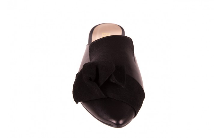 Klapki bayla-097 01 czarne klapki, skóra naturalna  - bayla - nasze marki 5