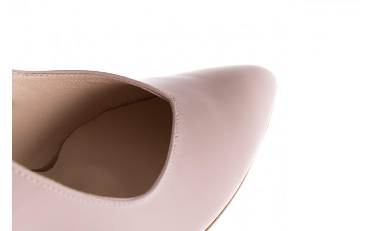Czółenka bayla-097 02 różowe czółenka, skóra naturalna  - bayla - nasze marki 6