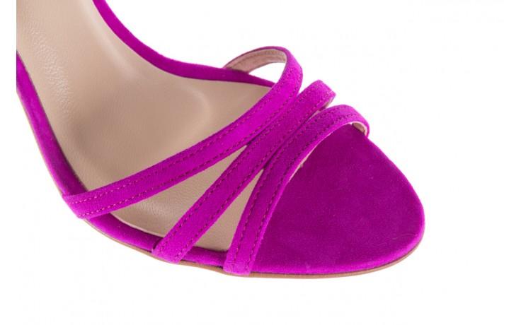 Sandały bayla-097 05 fuksjowe sandały, skóra naturalna  - bayla - nasze marki 6