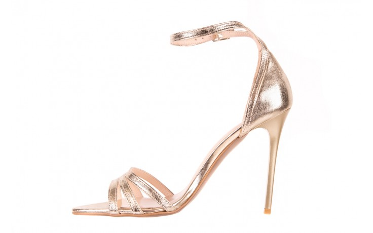 Sandały bayla-097 05 złote sandały, skóra naturalna  - bayla - nasze marki 2
