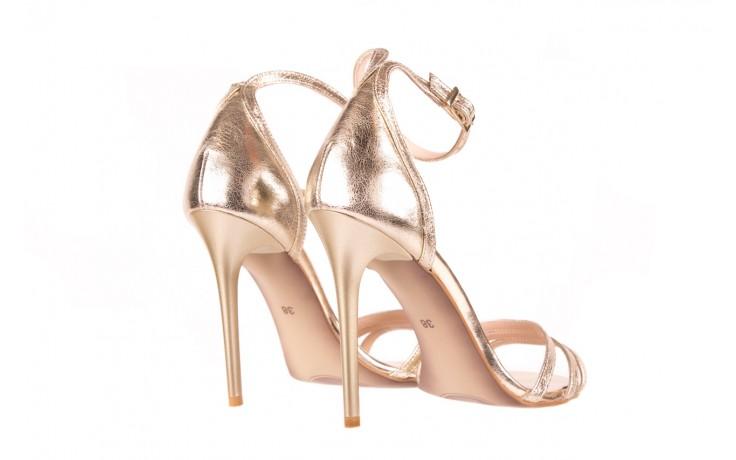 Sandały bayla-097 05 złote sandały, skóra naturalna  - bayla - nasze marki 3