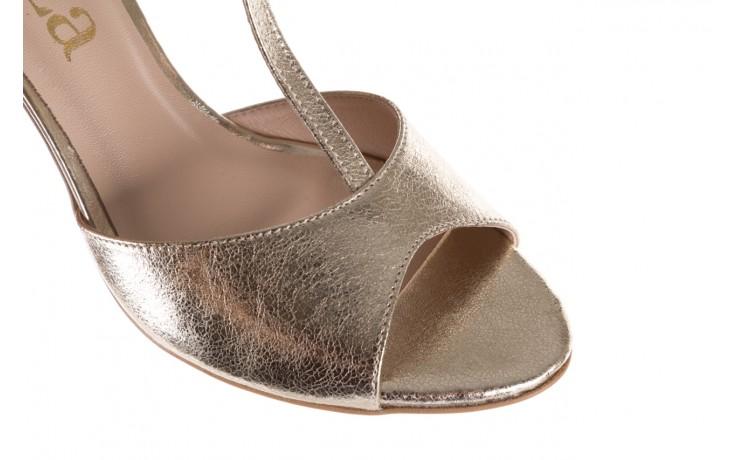 Sandały bayla-097 06 złote sandały, skóra naturalna  - bayla - nasze marki 6