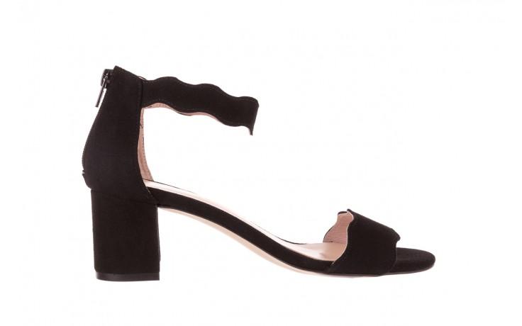 Sandały bayla-097 12 czarne sandały, skóra naturalna  - bayla - nasze marki