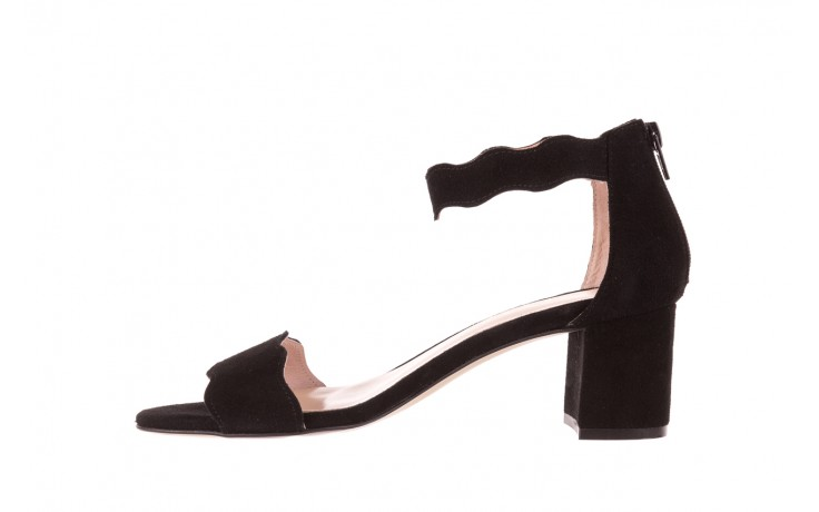 Sandały bayla-097 12 czarne sandały, skóra naturalna  - bayla - nasze marki 2