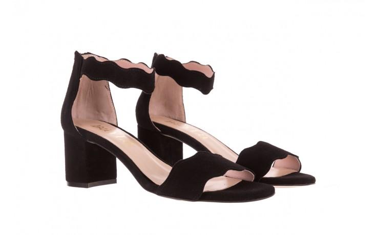 Sandały bayla-097 12 czarne sandały, skóra naturalna  - bayla - nasze marki 1