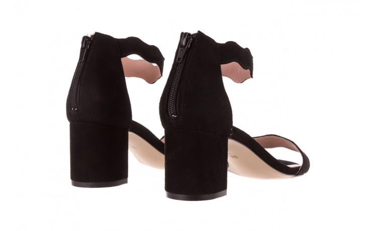 Sandały bayla-097 12 czarne sandały, skóra naturalna  - bayla - nasze marki 3