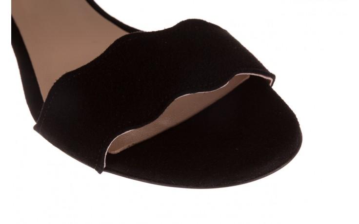 Sandały bayla-097 12 czarne sandały, skóra naturalna  - bayla - nasze marki 5