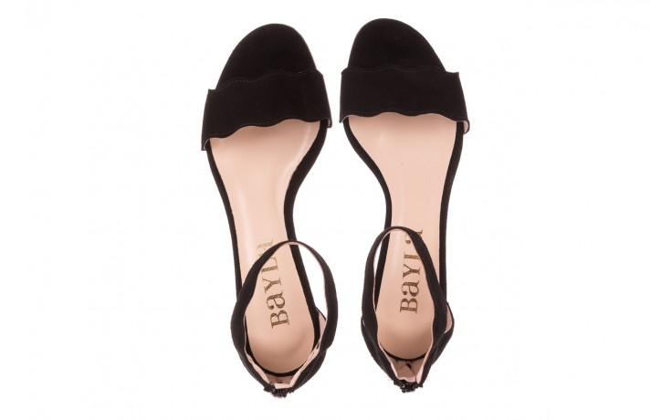 Sandały bayla-097 12 czarne sandały, skóra naturalna  - bayla - nasze marki 4