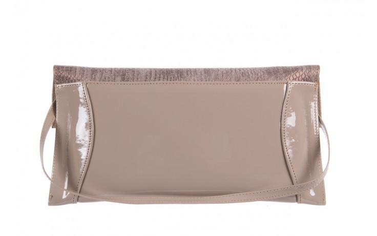 Bayla-097 torebka koperta sandra beż-metalic - bayla - nasze marki 2