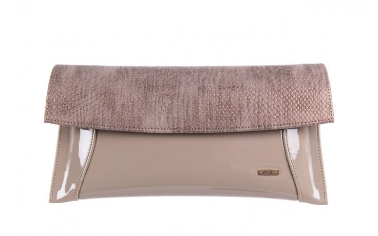 Bayla-097 torebka koperta sandra beż-metalic - bayla - nasze marki