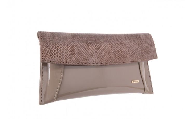 Bayla-097 torebka koperta sandra beż-metalic - bayla - nasze marki 1