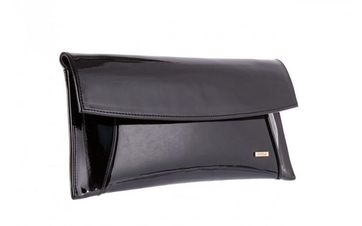 Bayla-097 torebka koperta sandra czarna-lakier - bayla - nasze marki 1