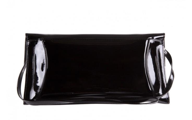 Bayla-097 torebka koperta sandra czarna-lakier - bayla - nasze marki 2