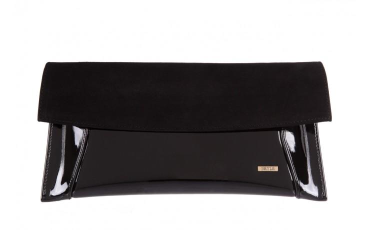 Bayla-097 torebka koperta sandra czarna-zamsz - bayla - nasze marki
