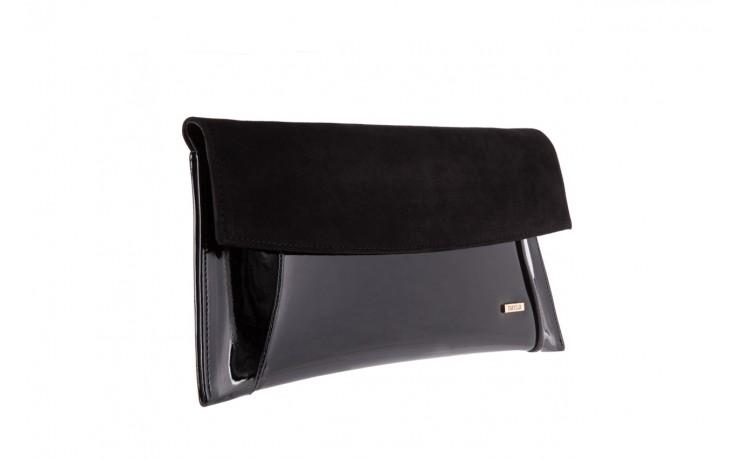 Bayla-097 torebka koperta sandra czarna-zamsz - bayla - nasze marki 1