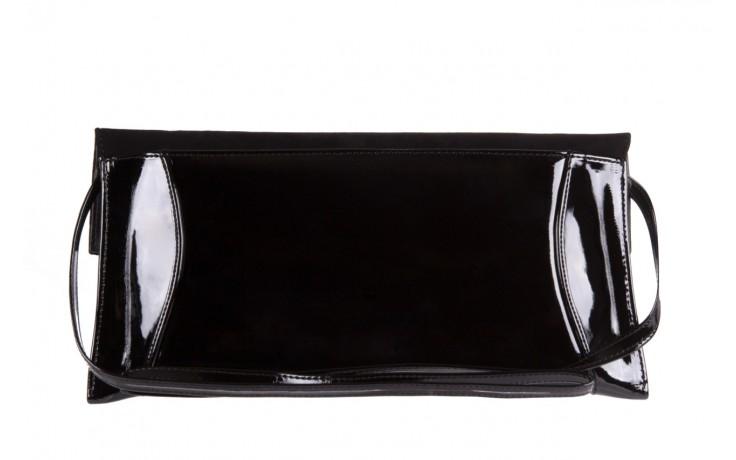 Bayla-097 torebka koperta sandra czarna-zamsz - bayla - nasze marki 2
