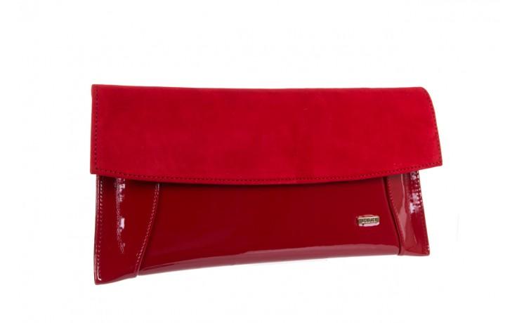 Bayla-097 torebka koperta sandra czerwona-zamsz - bayla - nasze marki 1
