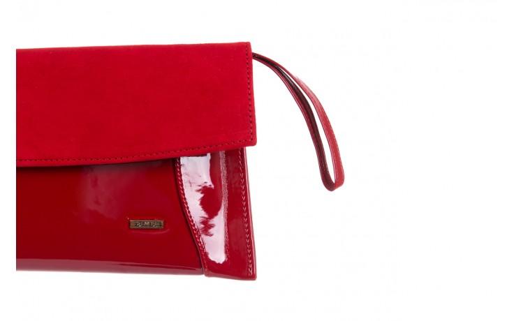 Bayla-097 torebka koperta sandra czerwona-zamsz - bayla - nasze marki 3