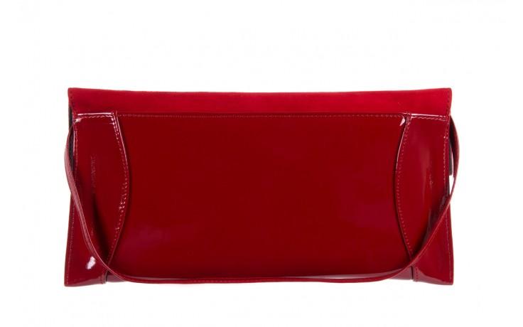 Bayla-097 torebka koperta sandra czerwona-zamsz - bayla - nasze marki 2