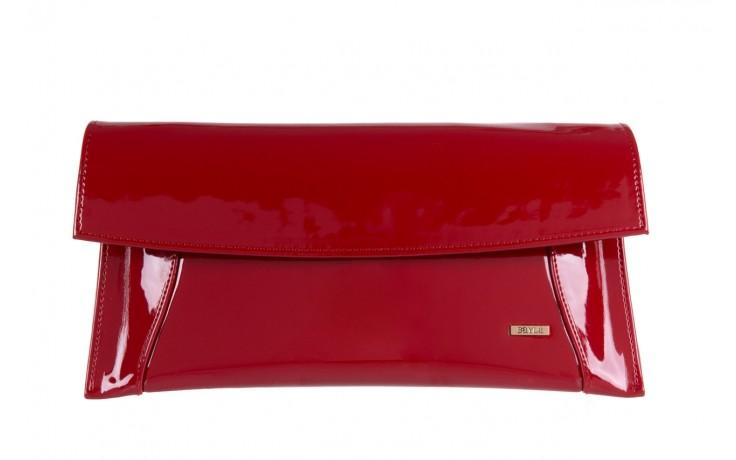 Torebka bayla-097 torebka koperta sandra czerwony-lakier 17 - akcesoria - kobieta