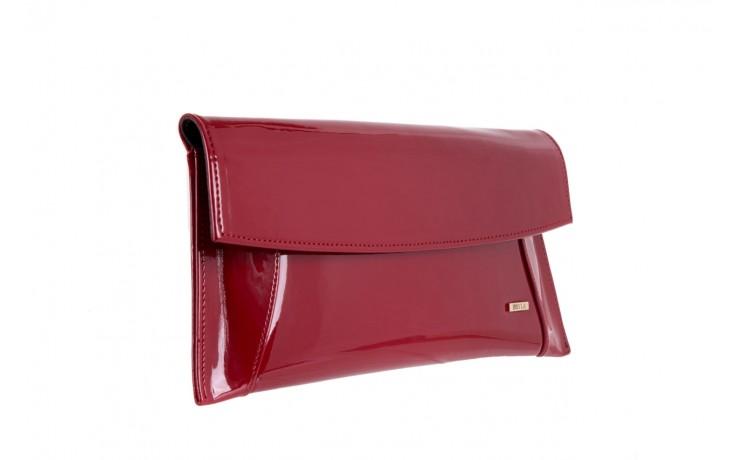 Torebka bayla-097 torebka koperta sandra czerwony-lakier 17 - akcesoria - kobieta 1