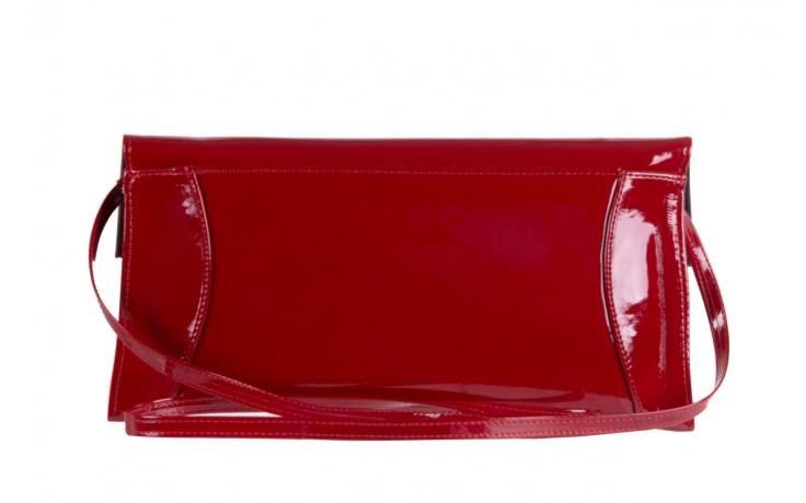 Torebka bayla-097 torebka koperta sandra czerwony-lakier 17 - akcesoria - kobieta 2