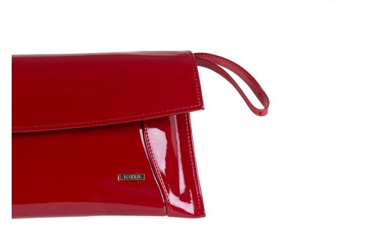 Torebka bayla-097 torebka koperta sandra czerwony-lakier 17 - akcesoria - kobieta 3