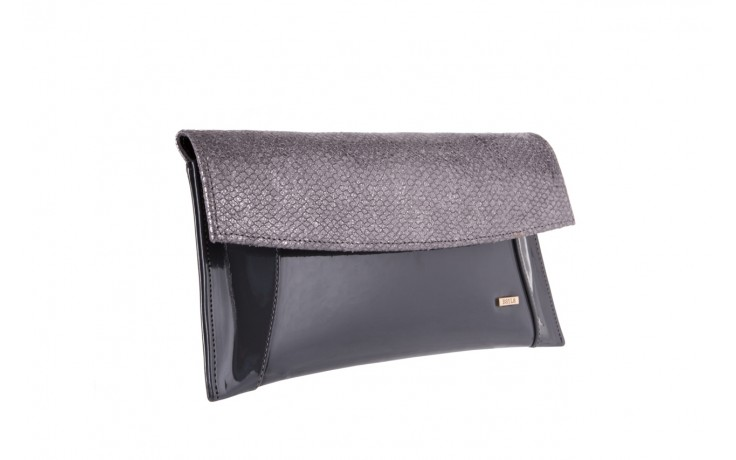 Bayla-097 torebka koperta sandra szara-metalic - bayla - nasze marki 1