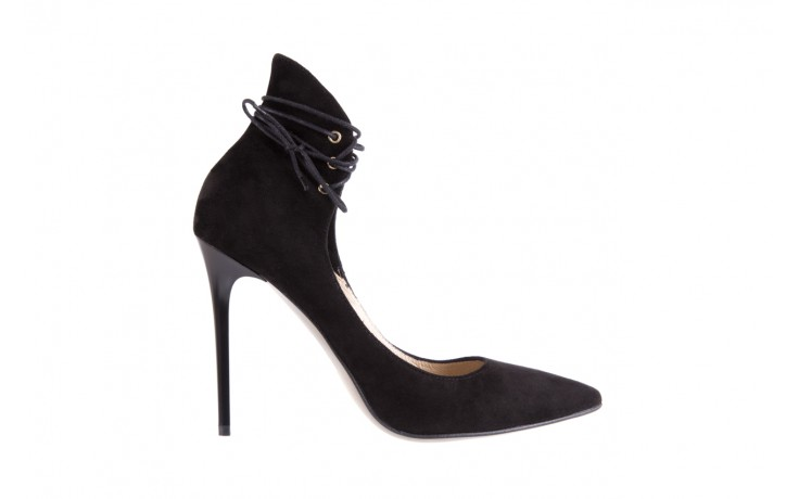 Szpilki bayla-097 z6940-447 czarny, skóra naturalna - obuwie excl 10 - kobieta - nieprzecenione