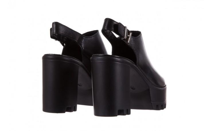 Sandały bayla-099 0184 sandro 04, czarny, skóra naturalna  - bayla - nasze marki 3
