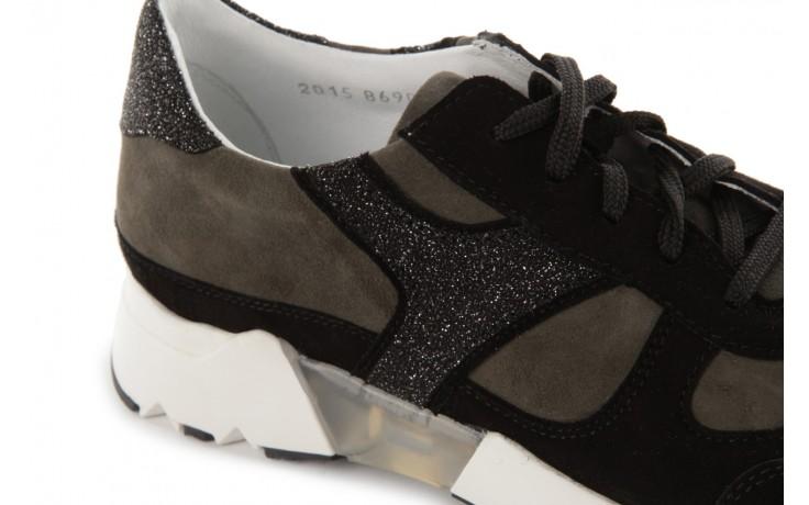 Sneakers bayla-099 8690 czarny, skóra naturalna - bayla - nasze marki 5