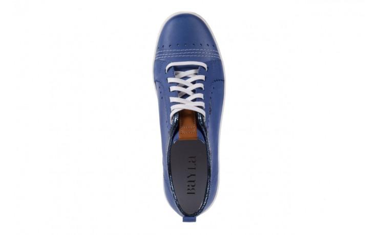 Trampki bayla-100 445s niebieski l, skóra naturalna  - bayla - nasze marki 4