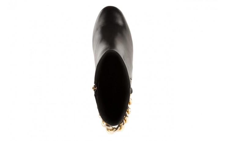 Botki bayla-106 4212005 black, czarny, skóra naturalna - biker - botki - buty damskie - kobieta 4