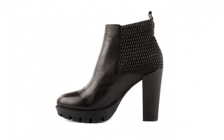 Botki bayla-106 4221004 black, czarny, skóra naturalna - biker - botki - buty damskie - kobieta 2