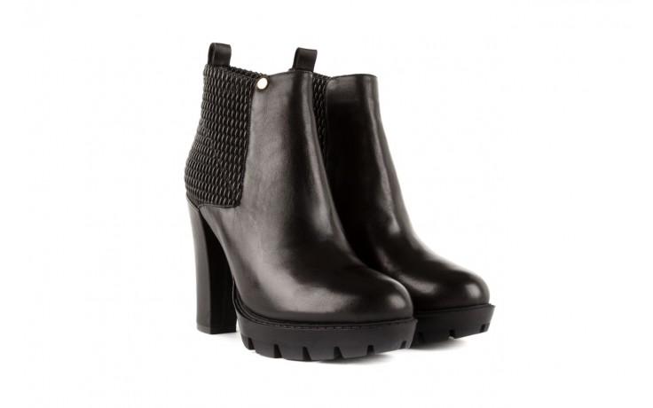 Botki bayla-106 4221004 black, czarny, skóra naturalna - biker - botki - buty damskie - kobieta 1